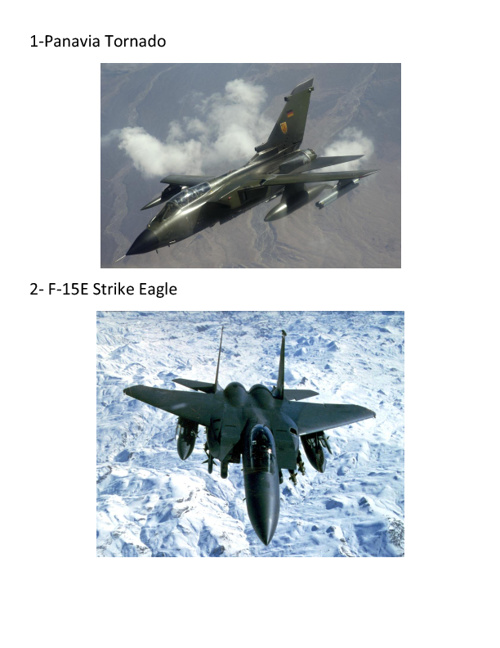 My Favourite Fighter Aircraft