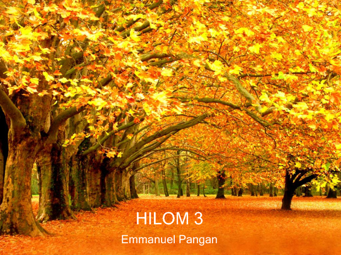 HILOM3 REVISED