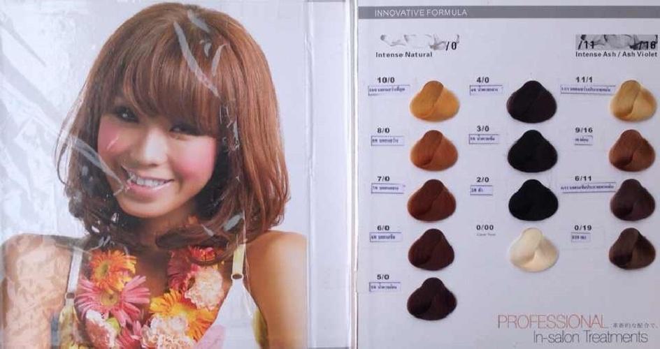 sunpusu color chart