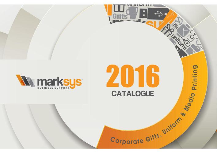 Marksys Catalogue 2016