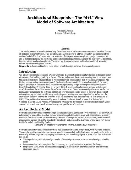 4+1view-architecture