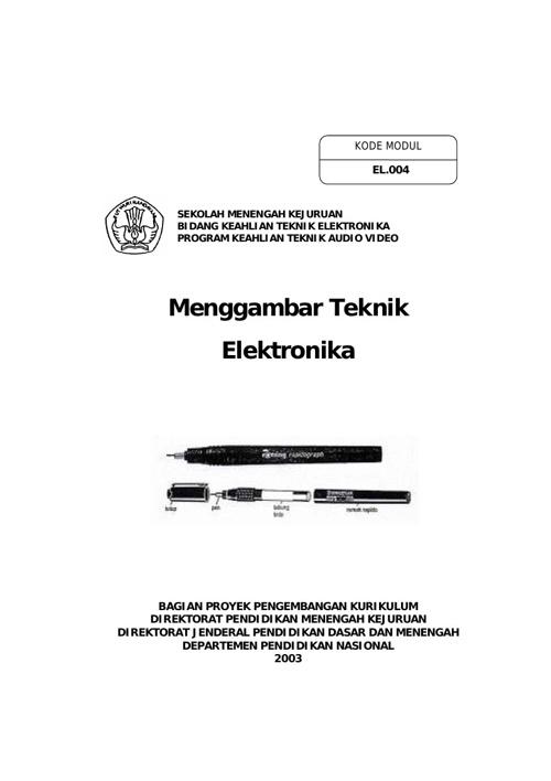 Penggambaran Teknik Elektronika