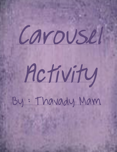 One Best Assignment Project - Carousel Activity