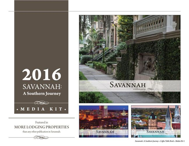 2016 Savannah: A Southern Journey Media Kit