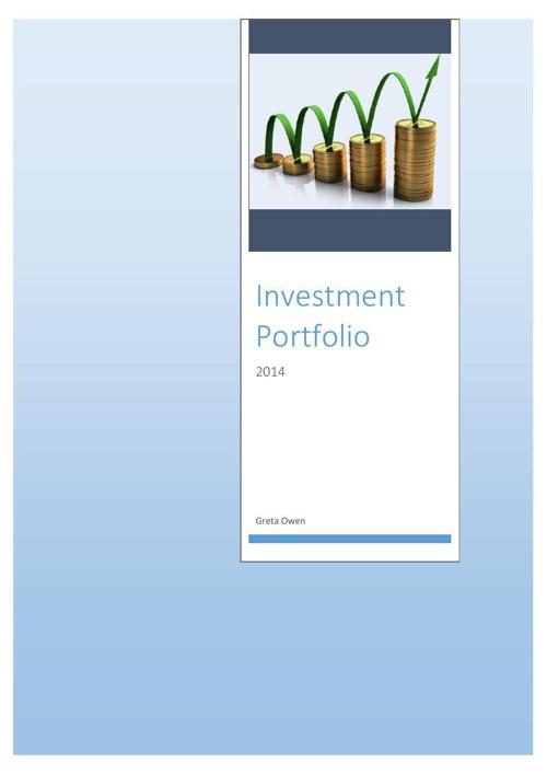 Greta Owen Investment portfolio