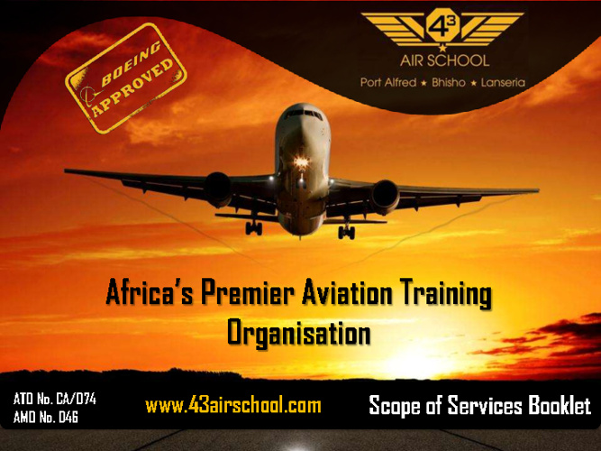 43 Air School Scope of Services Booklet