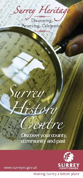 About Surrey History Centre