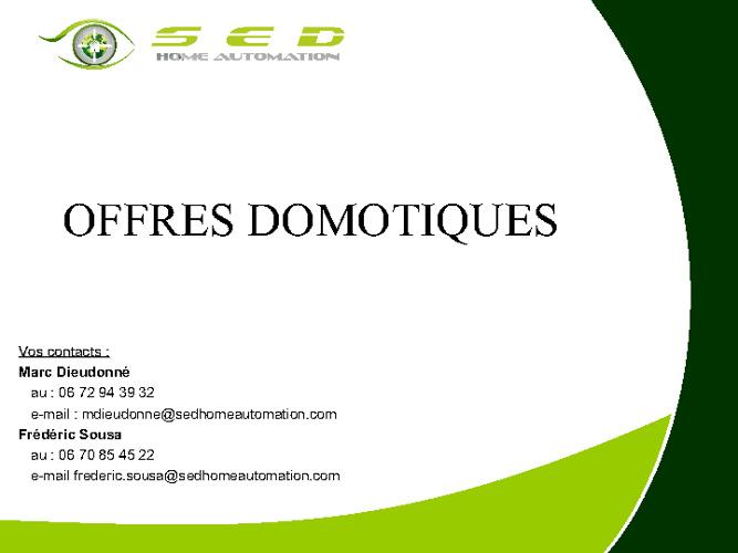 Catalogue d'offres