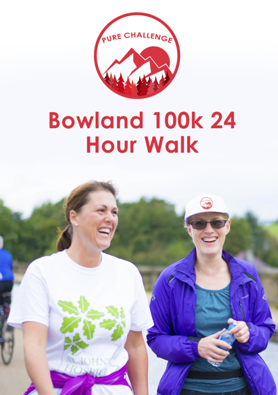 Bowland 100k 24 Hour Walk Pack