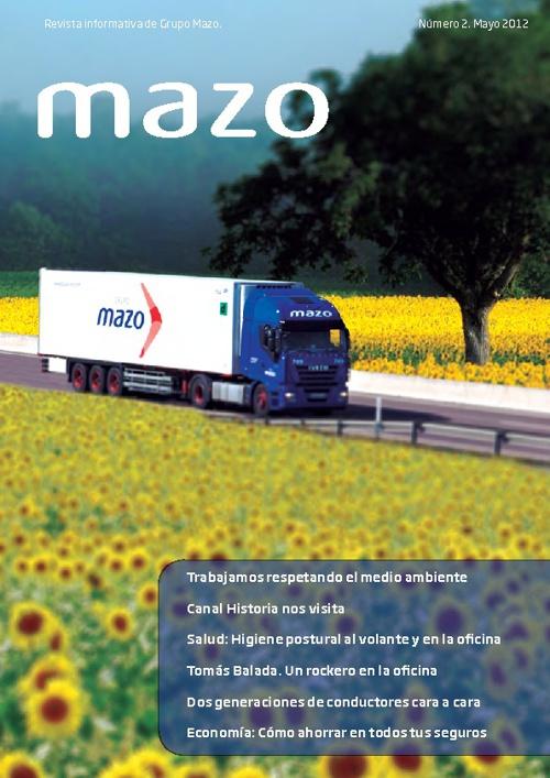 Revista Grupo Mazo. Mayo 2012
