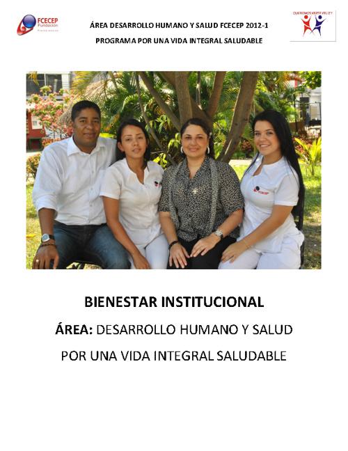 Boletín Área de Desarrollo Humano y Salud FCECEP - 2012-1