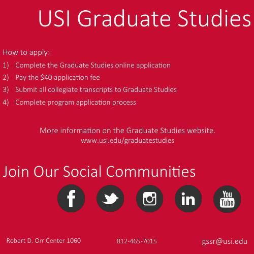 Grad Studies square flyer