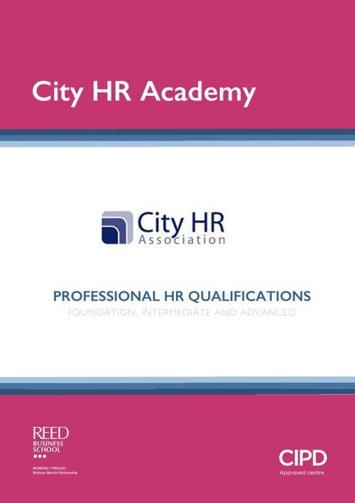 WMP - CityHR Academy brochure