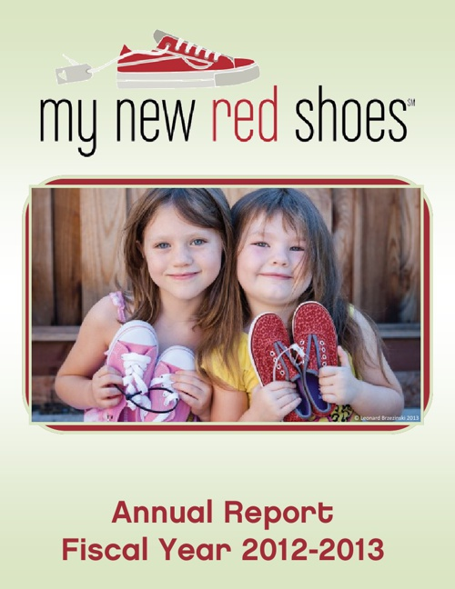 My New Red Shoes Annual Report - FY2013