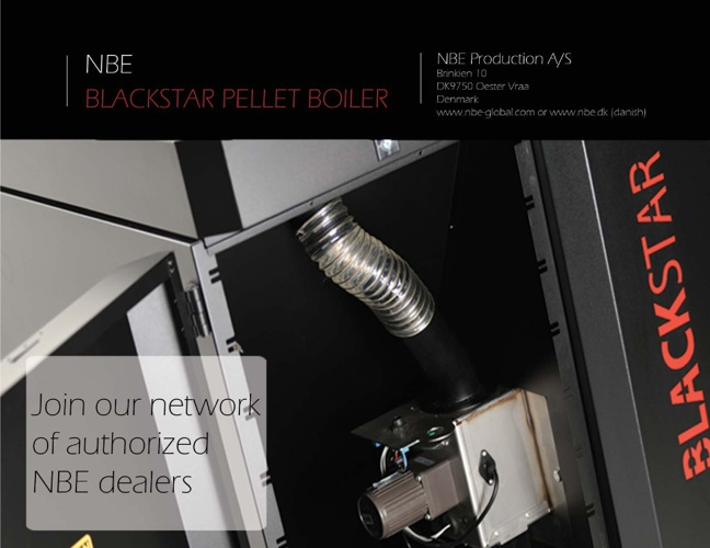 NBE Wood Pellet Boiler