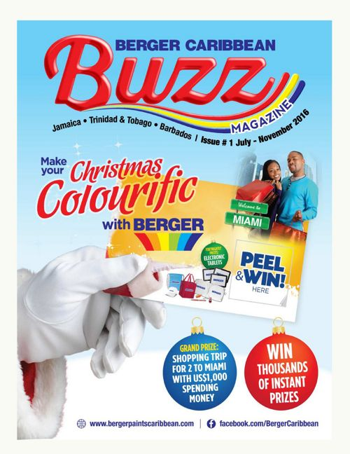 Berger Caribbean Buzz Newsletter - Issue #1