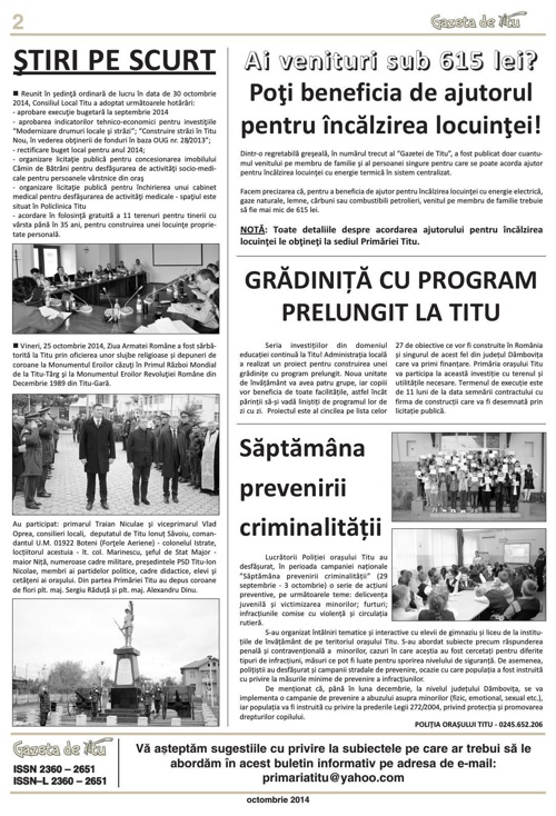 GAZETA DE TITU/NR07