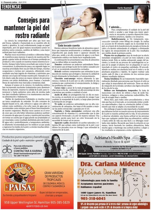 Presencia Latina version virtual Abril 2016
