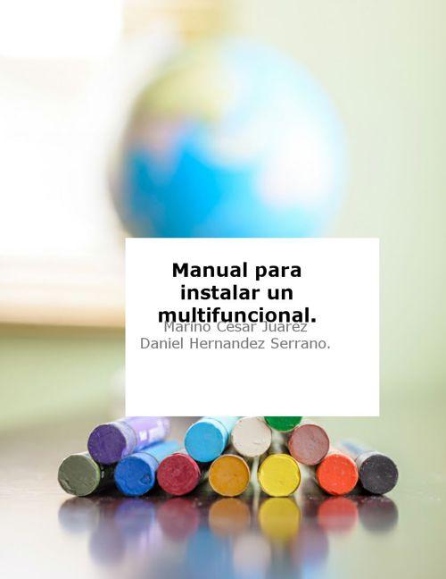 manual de impresora.