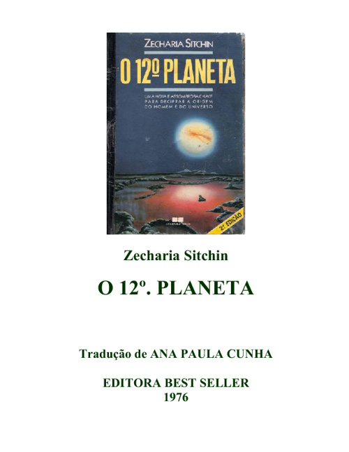 O décimo segundo planeta