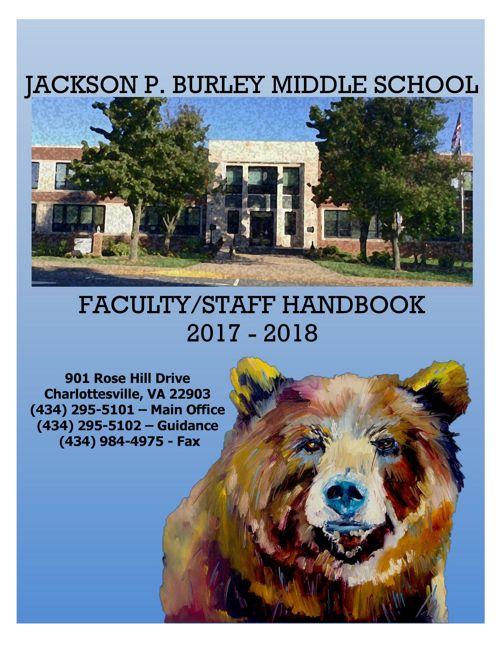 2017 2018 Faculty Handbook
