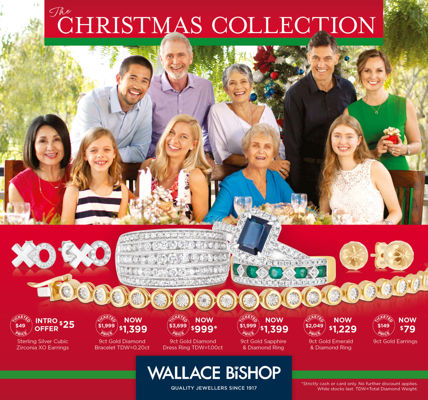 The Wallace Bishop Christmas Collection