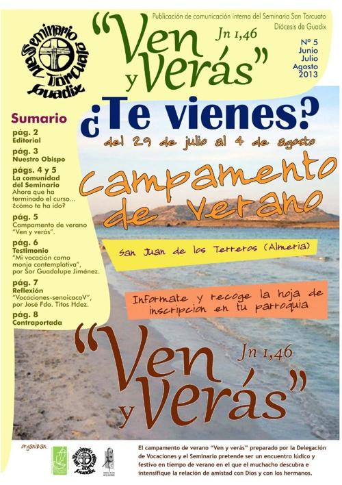 Revista Ven y Verás - Seminario San Torcuato
