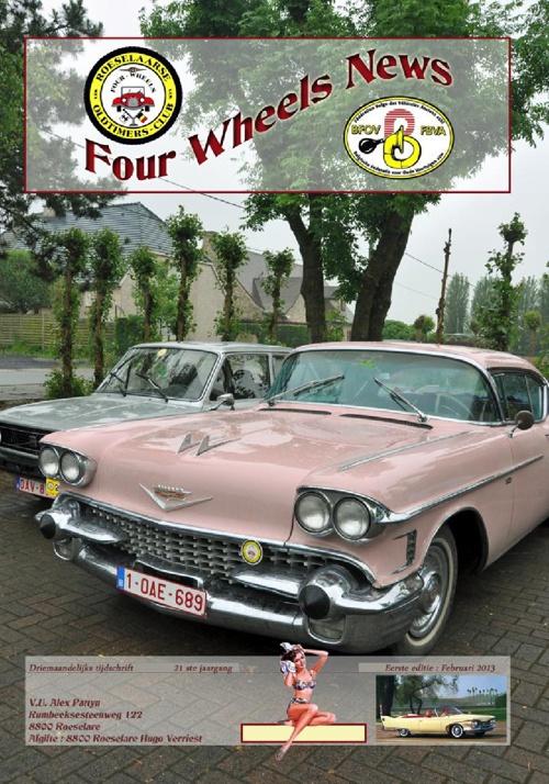 Tijdschrift Four Wheels 02/2013