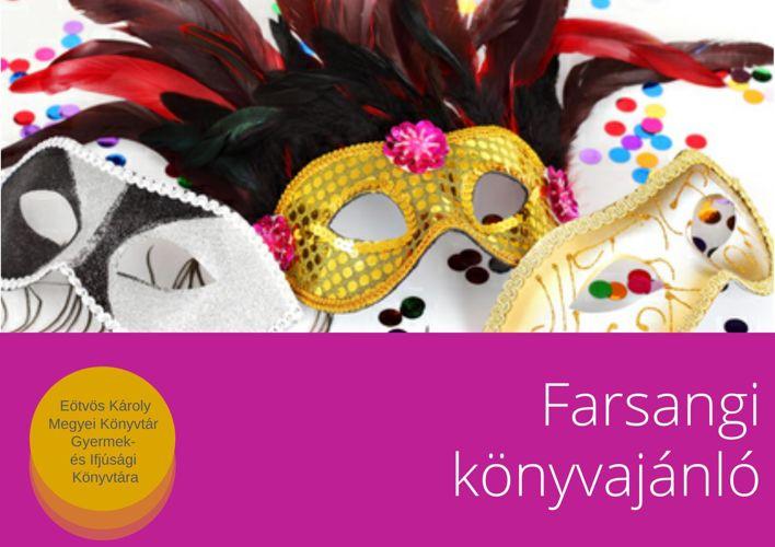 Farsangi könyvajánló