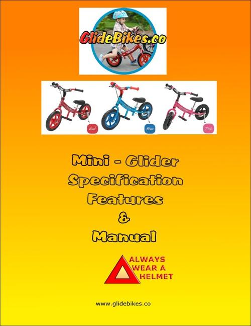 Mini Glider Manual 13