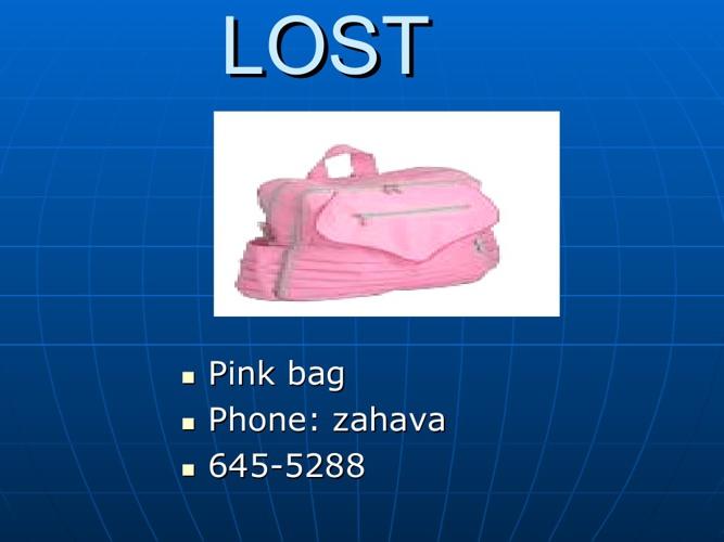 Lost - grade 5 - Golan