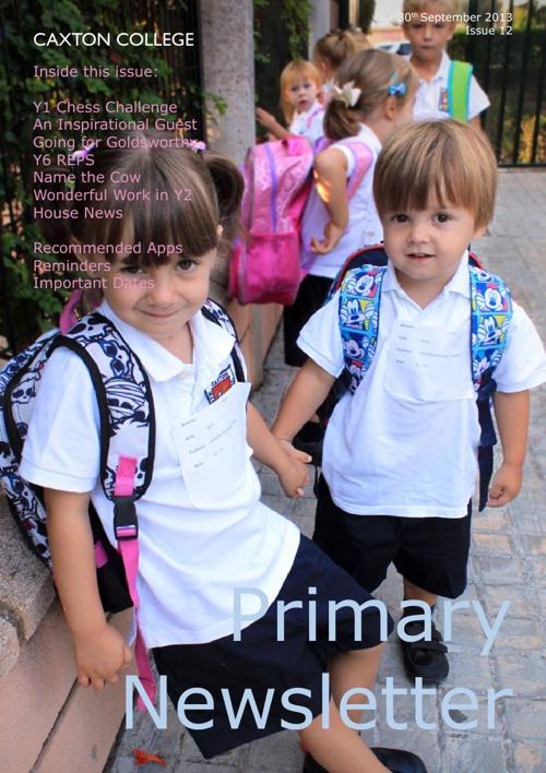 Copy of September Newsletter