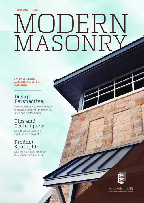 Designing With Masonry Veneers