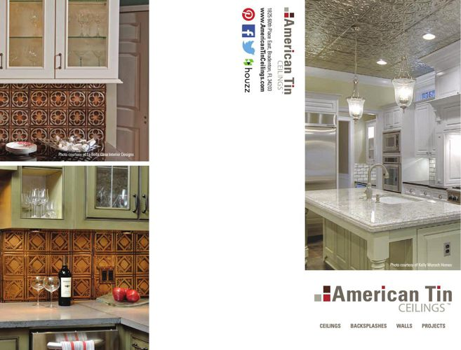 American Tin Ceilings Residential Catalog 2015