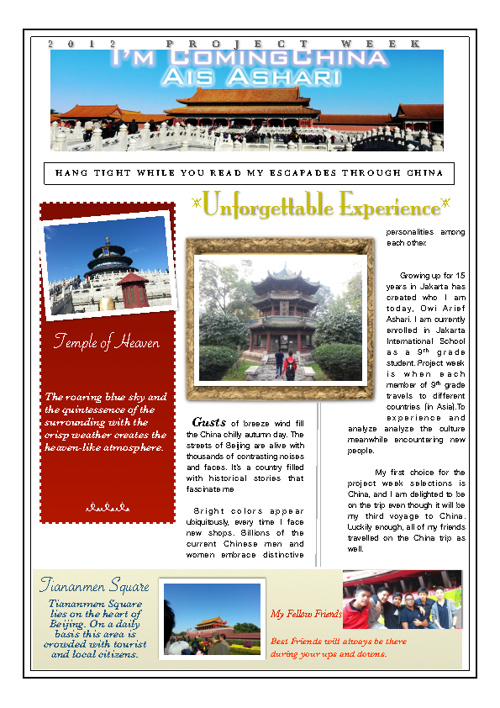 Travel Article Ais Ashari China