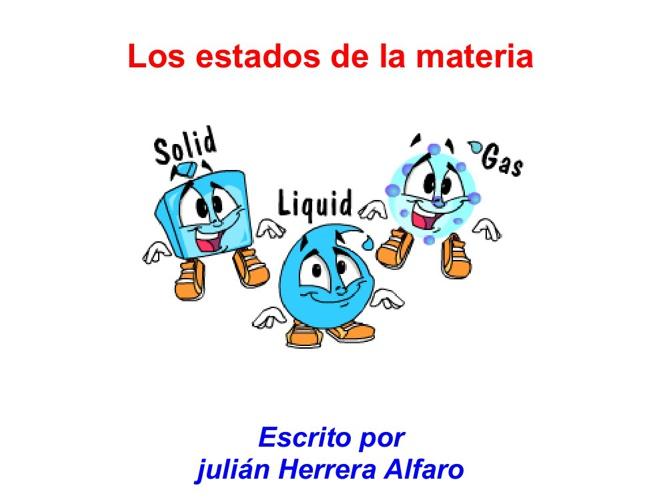 Julian Los estados de la materia