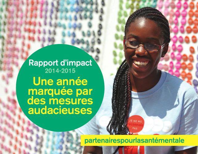 Partenaires pour la santé mentale - Rapport d'impact 2014-2015