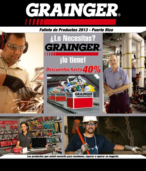 Grainger Puerto Rico Folleto de Productos 2013