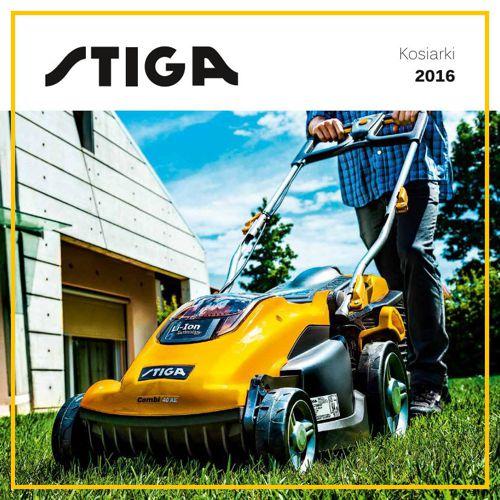 Stiga katalog kosiarki 2016