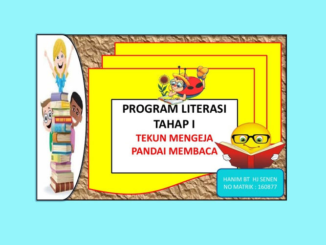 PROGRAM LITERASI (1) TAHAP 1