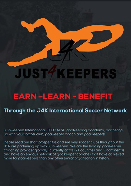 Just4Keepers Soccer Club Program