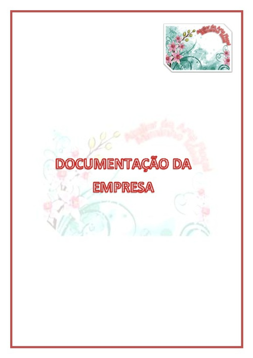 Documentos da empresa