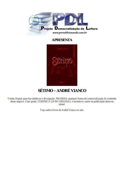 André Vianco - Sétimo