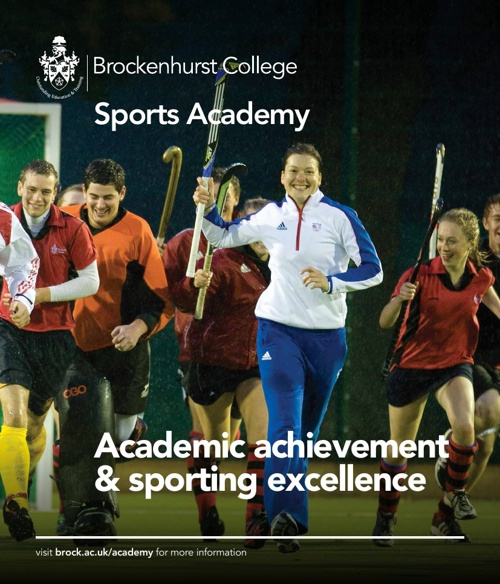 Brockenhurst College Sports Academy Brochure