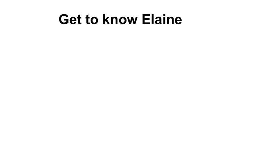 Elaine Gilmour