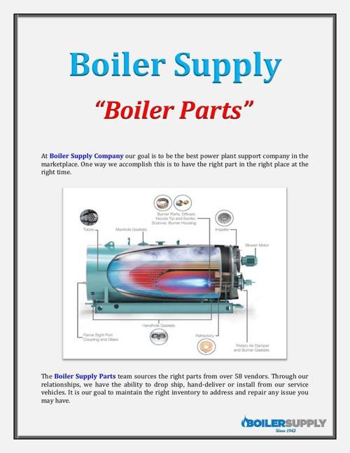Boiler Supply: Boiler Parts