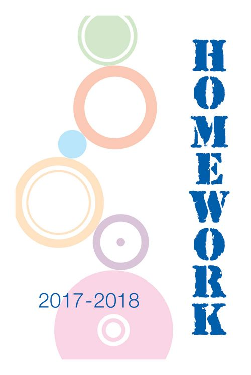 2017-2018 Standard Homework Section_The School Planner Company