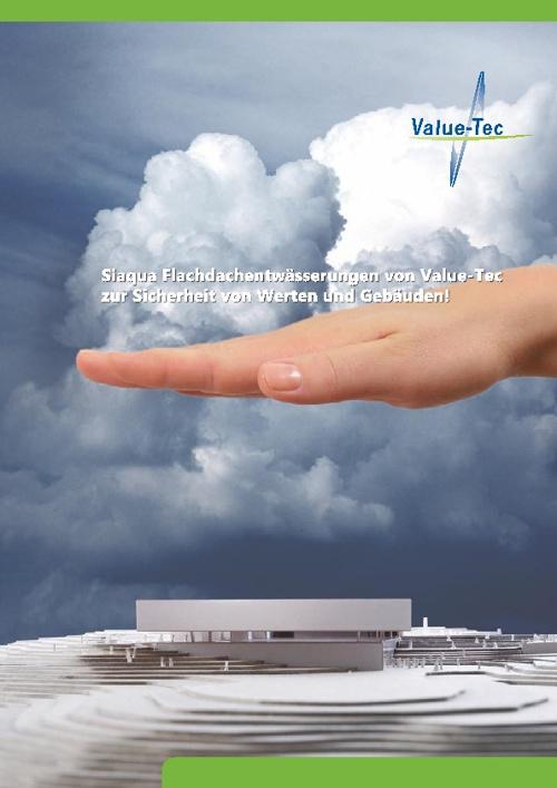 Siqua Flachdachentwässerung von Value-Tec
