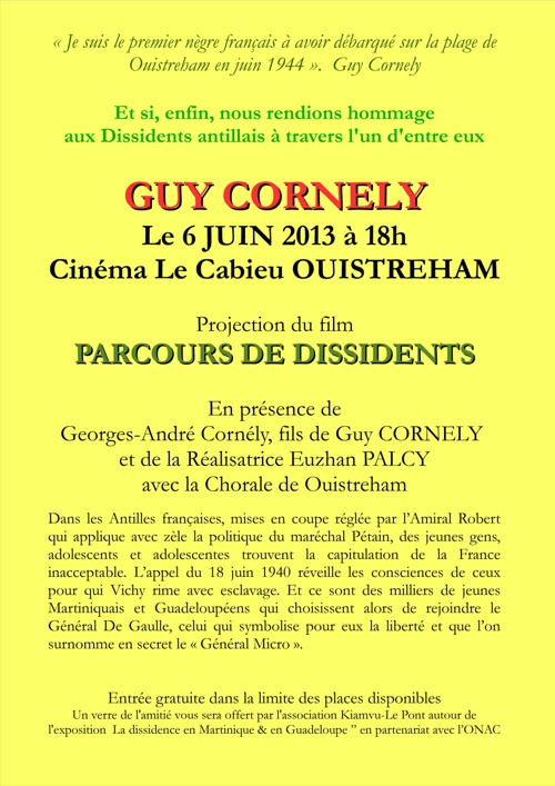 HOMMAGE À GUY CORNELY