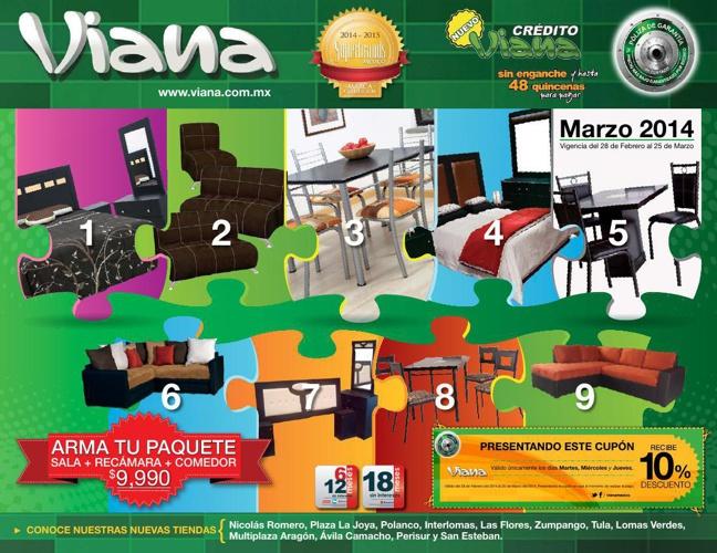 Catálogo Viana Marzo